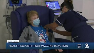 Hamilton County health officials say COVID-19 vaccine side effects no cause for alarm