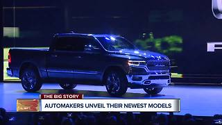 Automakers unveil their newest models - Video