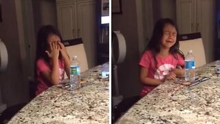 Adorable Moment Eight-year-old Bursts Into Tears As She Has No Idea How To Find A Husband