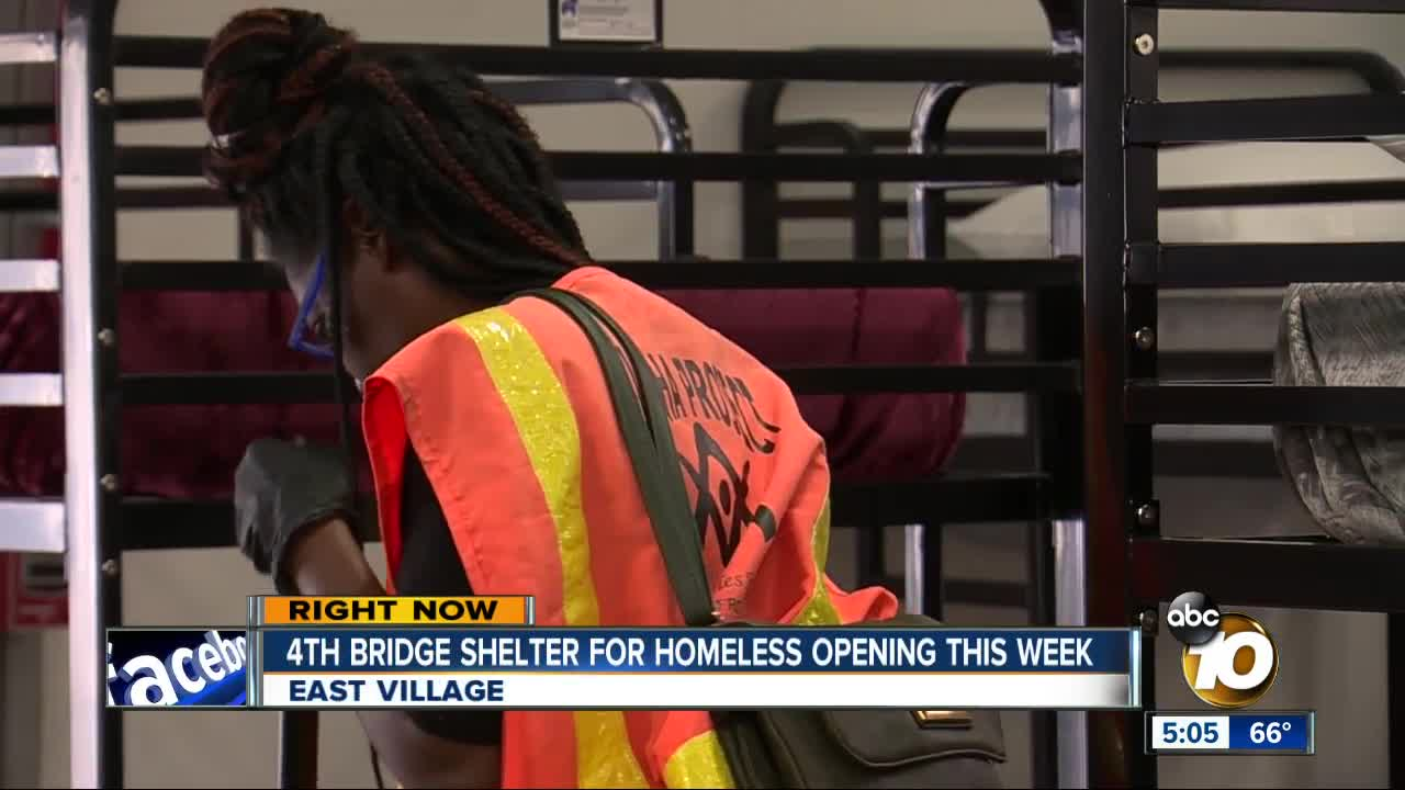 4th homeless shelter opening this week
