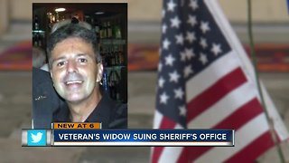 Navy veteran's family sues Pinellas Sheriff's Office over Taser death - Video