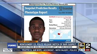 Police use composite created with DNA in search for rapist - Video