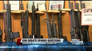 Tombstone Mayor, Sierra Vista gun shop owner weigh in on debate over gun reform