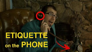 Common Phone Call Etiquette with Common Americans