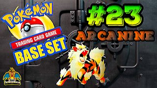 Pokemon Base Set #23 Arcanine | Card Vault