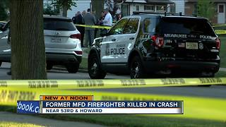 Retired MFD firefighter killed in crash involving off-duty MPD officer - Video