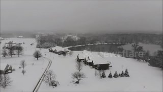 Winter Storm Gia blankets Midwest - Video