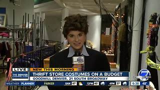 Affordable, creative Halloween costumes at Goodwill - Video