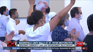Bakersfield unity rally held at St.Peter Restoration church