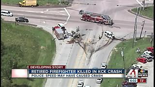 Retired firefighter killed in KCK crash - Video