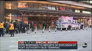 NYPD responding to reports of an explosion - Video