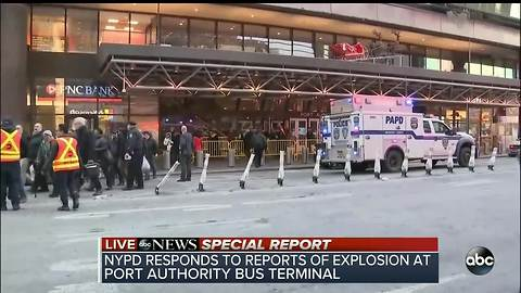 NYPD responding to reports of an explosion