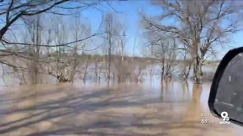 Ohio River flooding spared Rabbit Hash homes, businesses