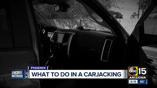 What to do if you're confronted by a carjacker - Video