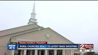 Church leaders react to Texas mass shooting