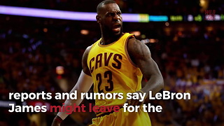 NBA Executives Believe Lebron James Will Form Super Team In Texas - Video