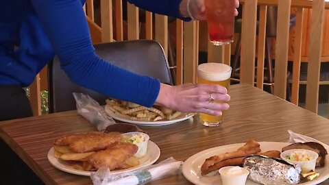 Friday fish fry at Hilly Haven Golf Course