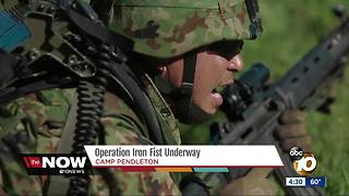 Operation Iron Fist underway at Camp Pendleton - Video