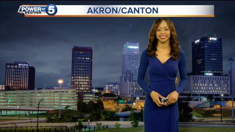 Akron Evening Weather Forecast