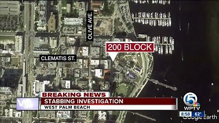 2 men stabbed after fight overnight in West Palm Beach
