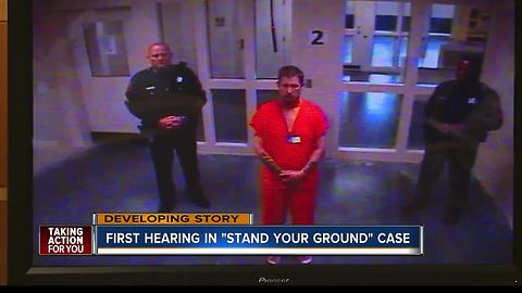 'Stand your ground' shooter Michael Drejka faces judge for first appearance
