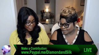 Diamond And Silk talk to their father about voting for President Trump.