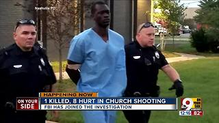 1 killed, 8 hurt in church shooting - Video