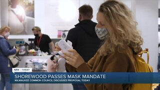 Village of Shorewood becomes first in southeast Wisconsin to pass face mask requirement