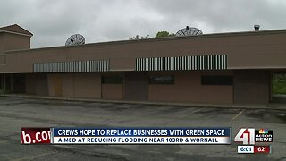 Green space to replace vacant strip mall in south KCMO