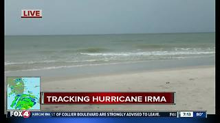 Collier County conditions remain calm Saturday evening as they brace for Hurricane Irma - Video