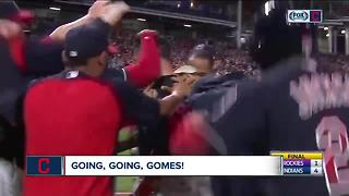 Gomes hits a three-run homer in the 9th inning - Video