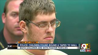 Police: Boys' father bound, gagged them - Video