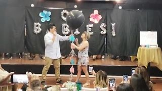 Couple's Gender Reveal Party Is Taken Over By A Flashmob