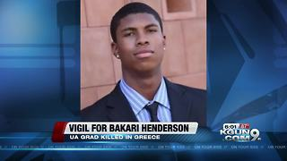 Vigil planned for UA graduate killed in Greece - Video