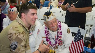 Thousands Gather to Honor 75th Anniversary of the Attacks on Pearl Harbor - Video