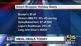 4th of July meal deals - Video