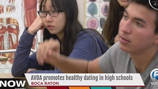 AVDA promotes healthy dating in high schools - Video