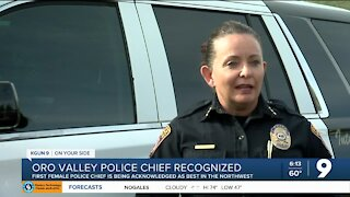 Oro Valley Police Chief gets recognized as Best of the Northwest
