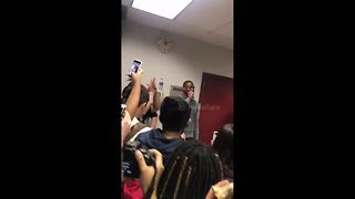Dwyane Wade makes surprise visit to Stoneman Douglas High School - Video