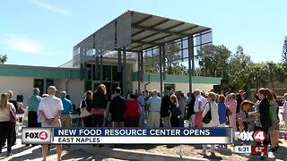New food resource center opens in East Naples - Video
