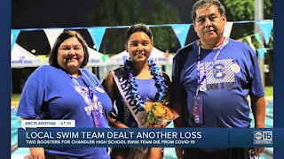 Two boosters for Chandler High School swim team die from COVID-19