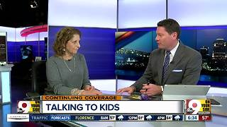 Psychologist Lucy Allen advises how to talk with kids about school shootings