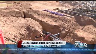 Jesse Owens Park scheduled to open on May 7th - Video