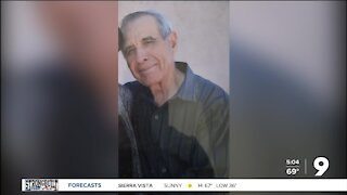 Sahuarita Police search for missing 78-year-old man