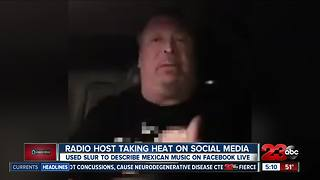 Local radio host in hot water for racial slurs - Video