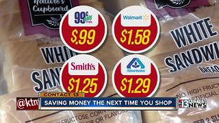 How to save money when grocery shopping - Video