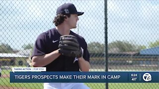 Tigers prospects make their mark in camp