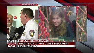 Jayme Closs released from hospital after ordeal - Video