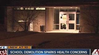 Overland Park school demolition sparks health concerns - Video