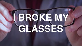 Man Records An Ode To His Favourite Pair Of Glasses - Video